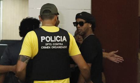 Former Brazilian soccer star Ronaldinho(Reuters)