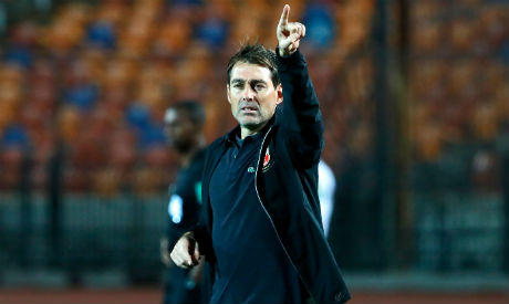 Ahly coach Rene Weiler (Al-Ahram)