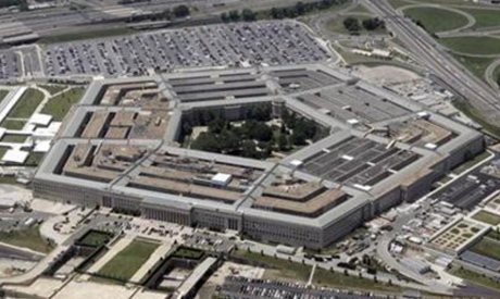 An aerial view of the Pentagon building in Washington, June 15, 2005. (Reuters)