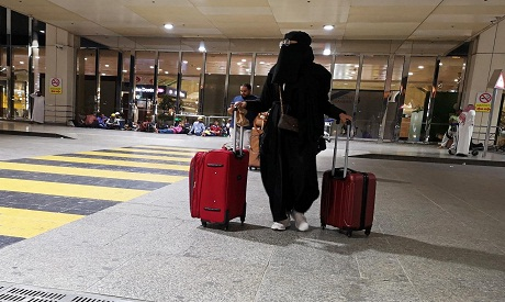 Saudi traveler