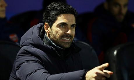 Arsenal manager Mikel Arteta (Reuters)