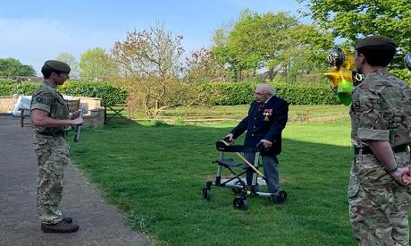 Britain military veteran