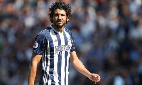 Ahmed Hegazi of West Brom