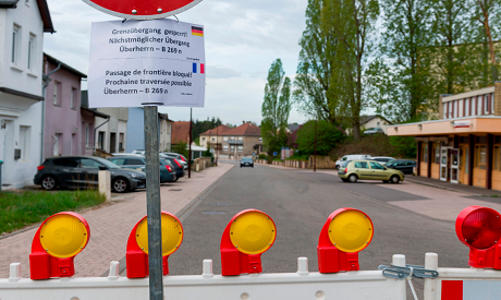 German-French Border