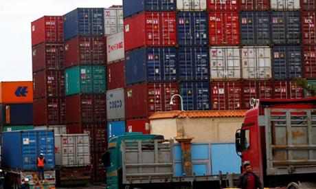 Imports shrink