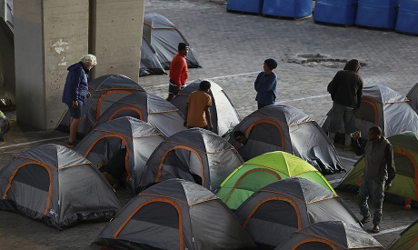 Homeless in SA