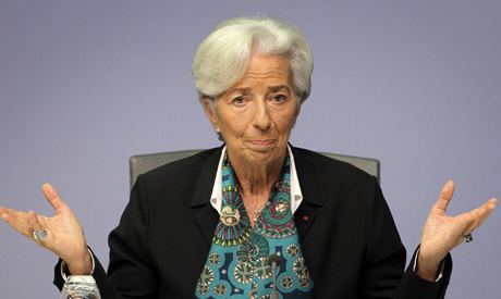 Christine Lagarde, President of the European Central Bank (AFP)