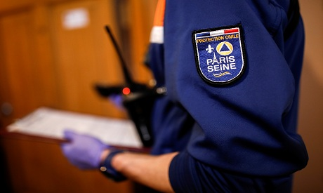 HEALTH-CORONAVIRUS/FRANCE-CIVIL PROTECTION