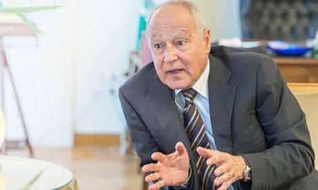 Arab League chief Abul-Gheit (Photo: Al-Ahram)