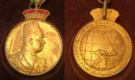 Fakhoury's medal