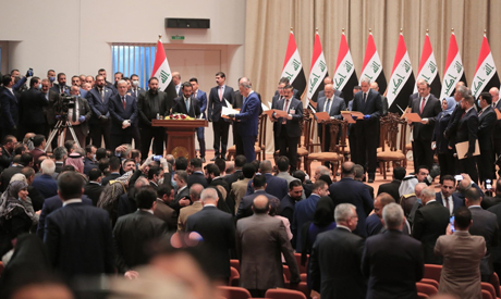Iraq's new government  in the Iran-US crossfire