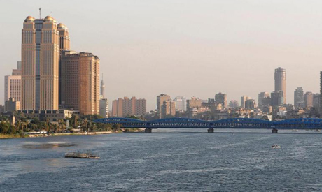 A general view of buildings by the Nile River in Cairo, Egypt . (Reuters)