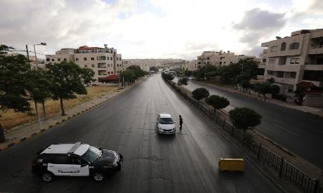 Curfew during Eid al-Fitr in Jordan