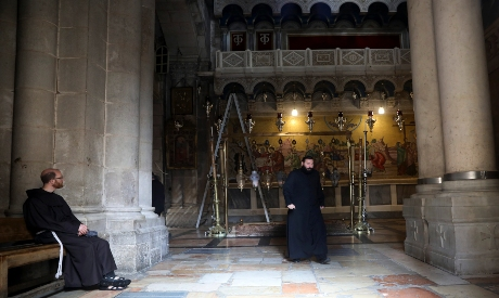 Reopining of Church of the Holy Sepulcher in Jerusalem