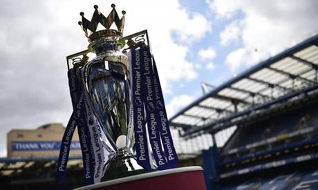 General view of the Premier League trophy (Reuters)