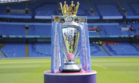 Premier League trophy (AP)