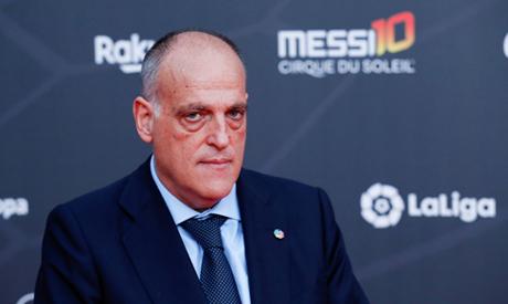 President of La Liga Javier Tebas (Reuters)