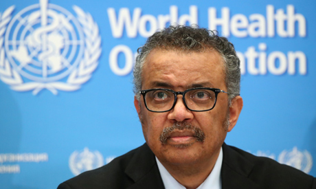 Director-General of the WHO Tedros Adhanom Ghebreyesus (Reuters)
