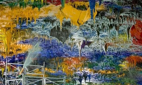 Spanish artist Miquel Barcelo