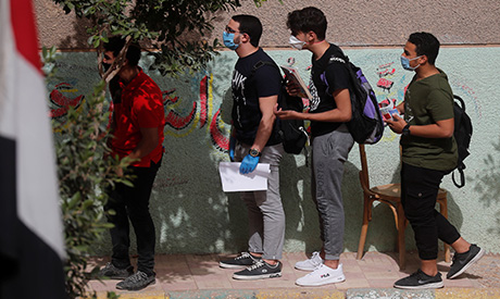 Egyptian students 2020 Reuters