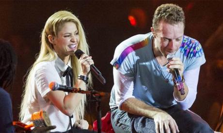 Shakira, Coldplay