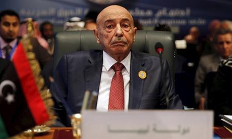 Speaker of Libyan Parliament Aguila Saleh Issa (Reuters)