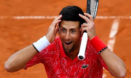 Novak Djokovic apologised for organising the Adria Tour tennis exhibition series (AFP)