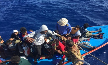 Libya coast guard migrants