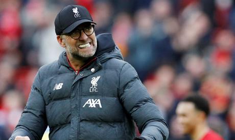 Liverpool manager Juergen Klopp (Reuters)