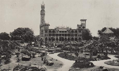 Postcard of Al-Montazah Garden