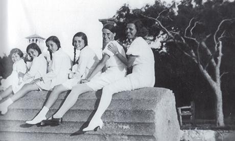 The Royal Family in al-Montazah Gardens