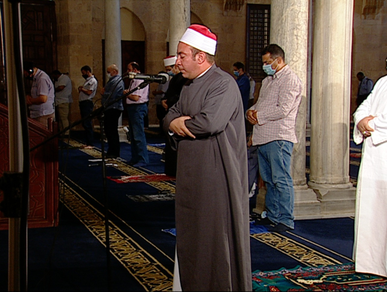 Fridays prayer at Cairo
