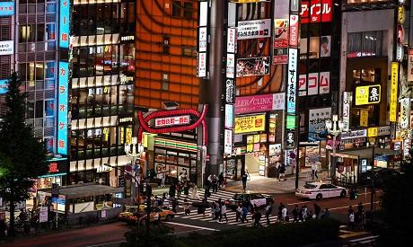Entertainment district, Tokyo