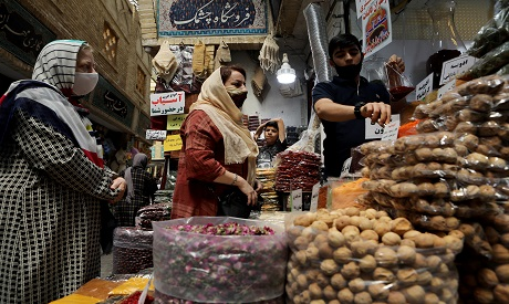 The Bazaar of Tehran, Iran
