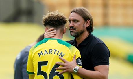 Norwich were relegated after defeat against West Ham (AFP)