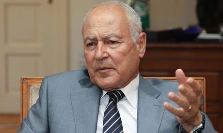 Arab League (AL) Secretary General Ahmed Abul Gheit