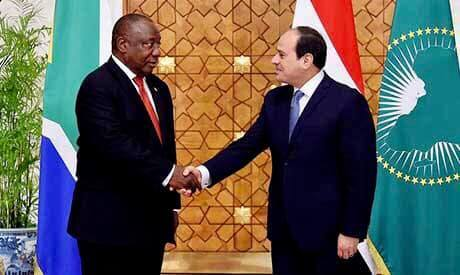 Egypt, South Africa discuss need to reach agreement on Renaissance Dam