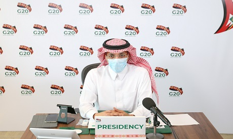 Saudi Minister of Finance Mohammed al-Jadaan