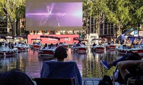 Cinema in Paris (AFP)