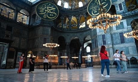 Museum or mosque? Turkey debates iconic Hagia Sofia's status