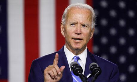 Democratic U.S. presidential candidate Joe Biden