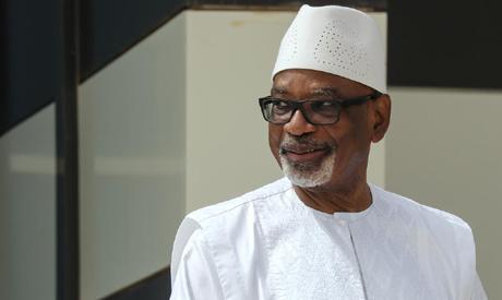 FILE PHOTO: Mali President Ibrahim Boubacar Keita (Reuters)