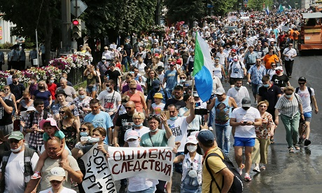 Protests in Russia