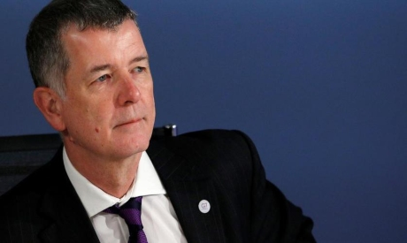 Richard Moore as the new chief of Britain MI6 spy service