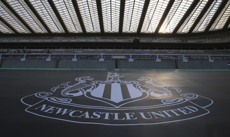 File photo, empty seats during the English Premier League soccer match between Newcastle United and