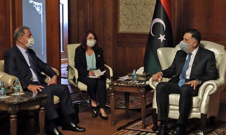 Fayez al-Sarraj (R), Prime Minister of Libya