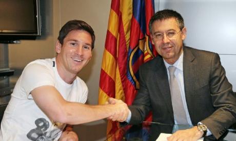 Bartomeu & Messi