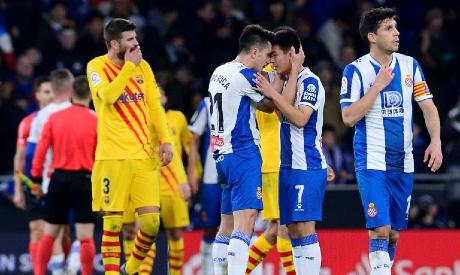 Espanyol players