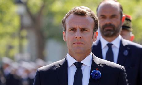File photo taken on May 8, 2018 French President Emmanuel Macron (AFP)
