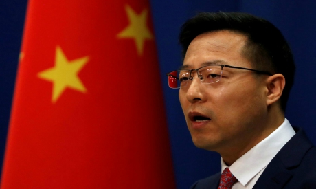 Chinese foreign ministry spokesperson Zhao Lijian